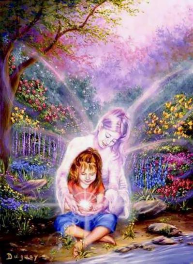 Ange et enfant