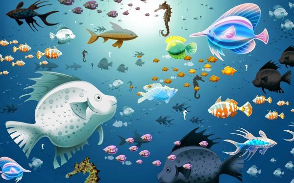 Aquarium wallpaper animated 755343