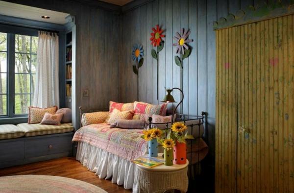 Chambre d enfant maison rustique