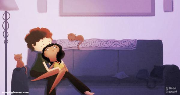 L amour dans de petites choses simples par nidhi chanani 25