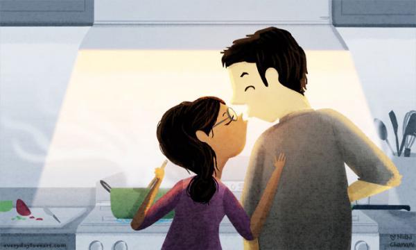 L amour dans de petites choses simples par nidhi chanani 6