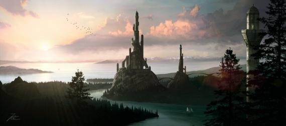 Paysages fantastiques sakara city img