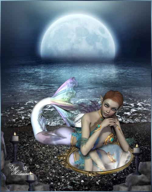 Sirene au miroir